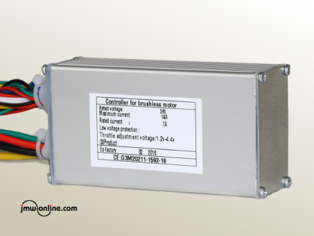 FOC Controller SG05P, sensored/sensorless (mit Lichtmodulanschluss)